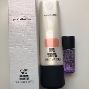 MAC Strobe Cream Peachlite Full Size NEW Authentic